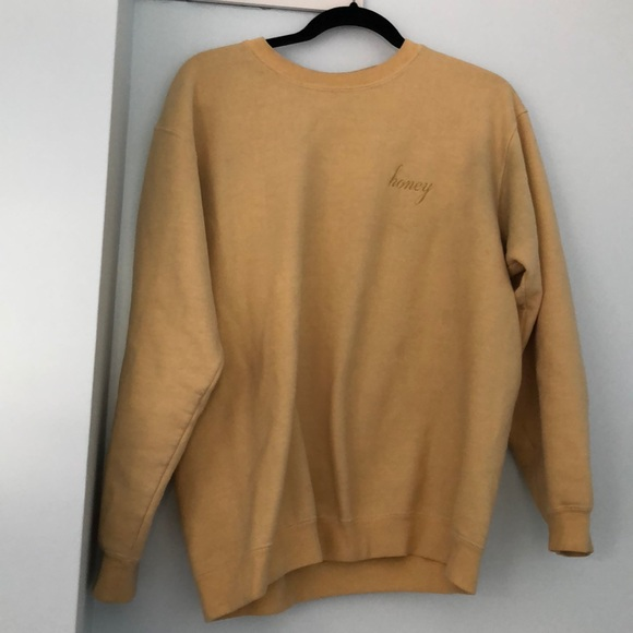 Brandy Melville Sweaters Honey Sweatshirt Poshmark
